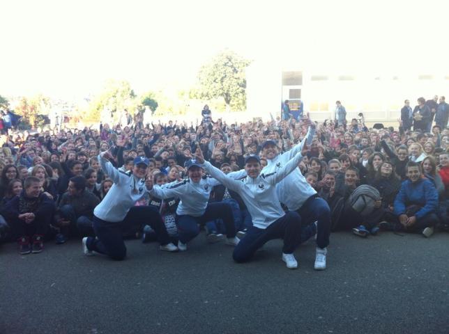 600 élèves... C'est parti !